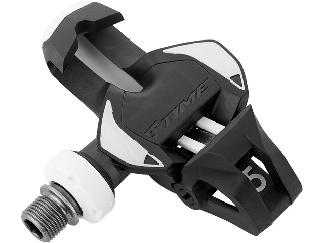 Time Xpro 15 Titan Carbon Racefiets Pedalen, zwart/wit